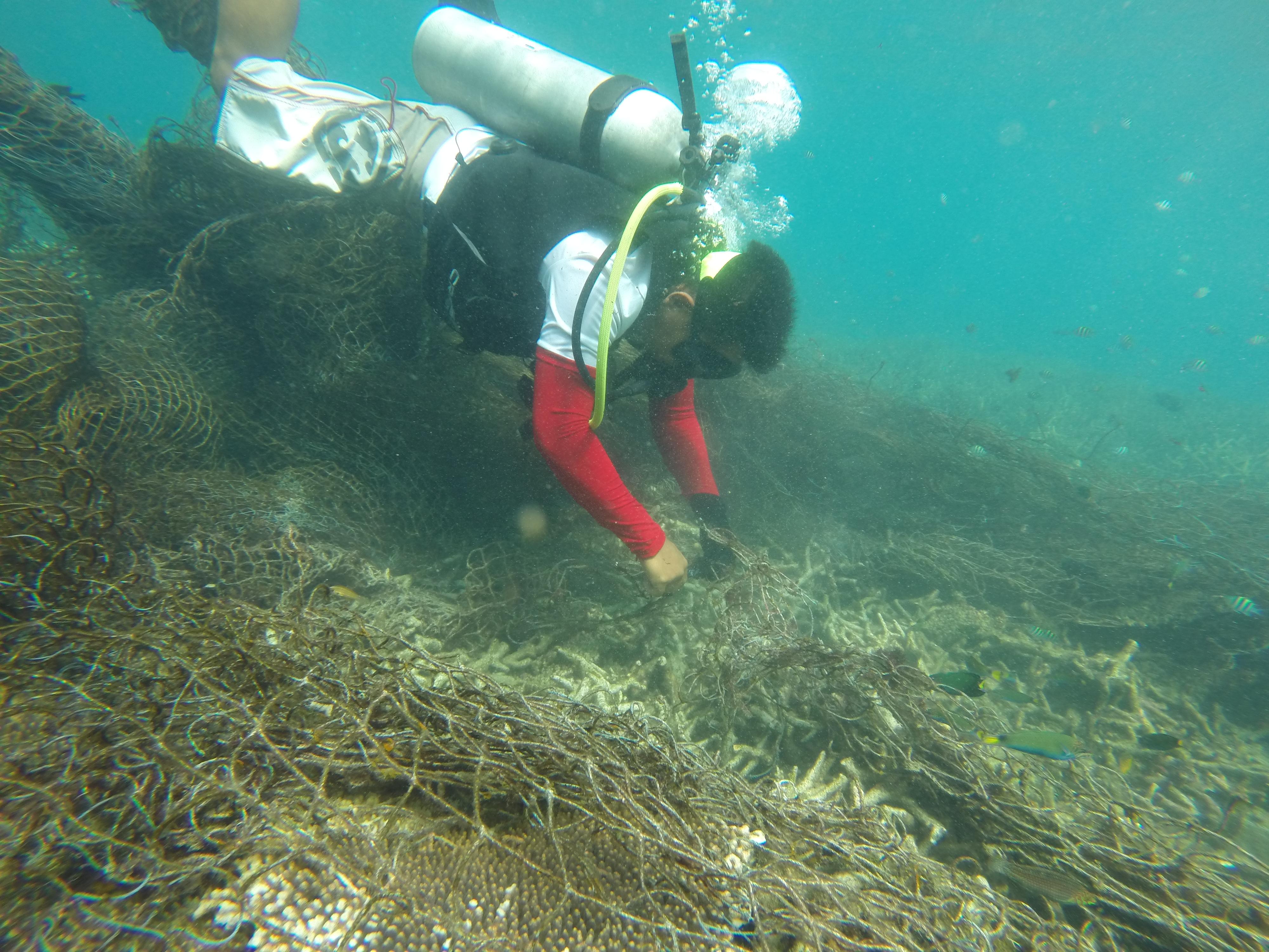 Choking coral
